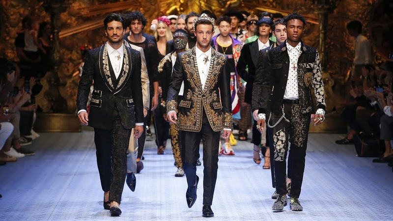 DolceGabbana Spring Summer 2019 Men's Fashion Show