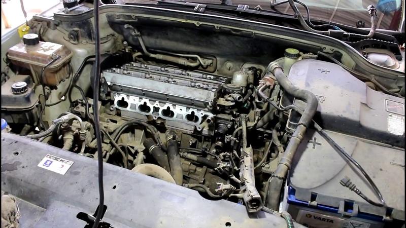 Обрыв ремня ГРМ загнуло клапана установка головки 4часть Peugeot 407 1,8 Пежо 407 2005 года