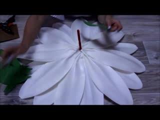 Ромашка из летнего букета i бесплатный мк