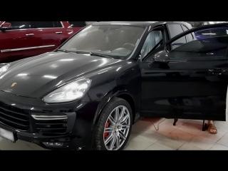 Автоматическая тонировка Porsche Cayenne 958