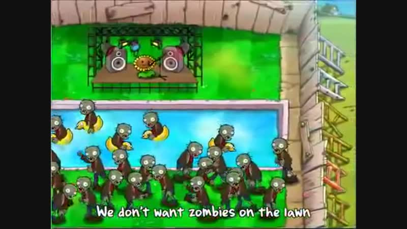 Растения против Зомби. Финальная песня