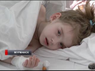 Маленькой жительнице Видяево требуется лечение в Москве