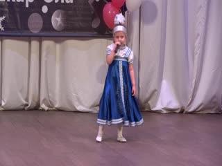 """3-х летняя девочка покорила жюри и зрителей конкурса"""" Шанс"""""""