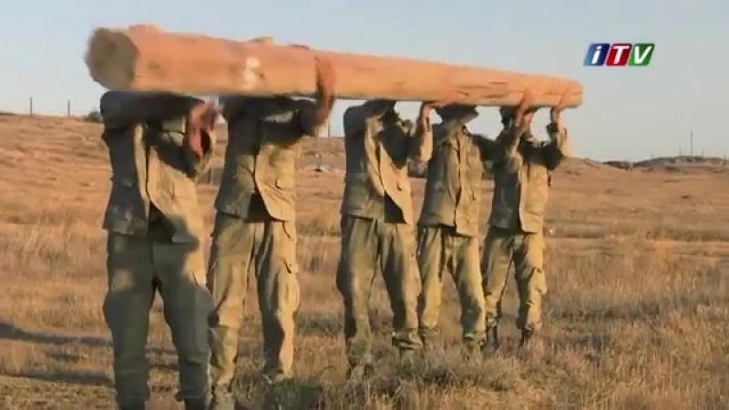 Учение спецназа ВС Азербайджана