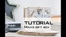 TUTORIAL Man's gift box МАСТЕР КЛАСС Коробочка для мужского подарка