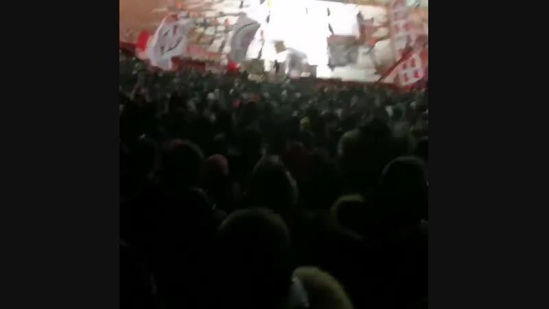 Креатив фанатов Црвены Звезды
