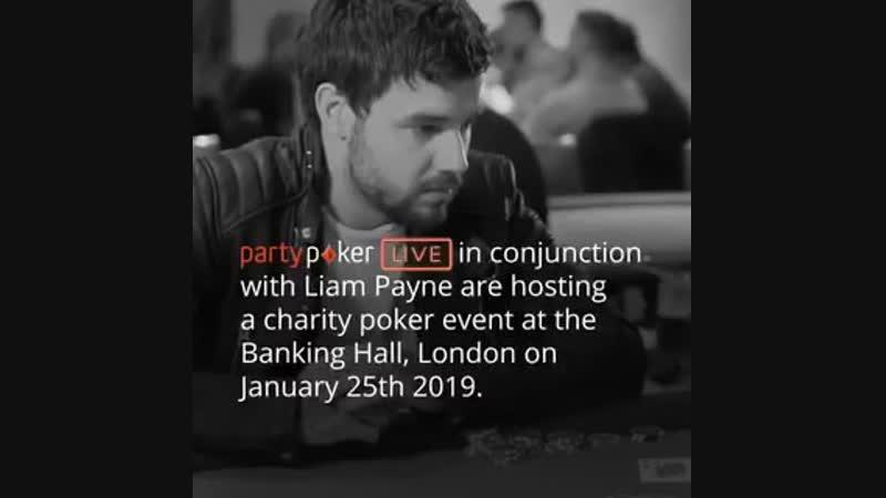 Charity poker evening