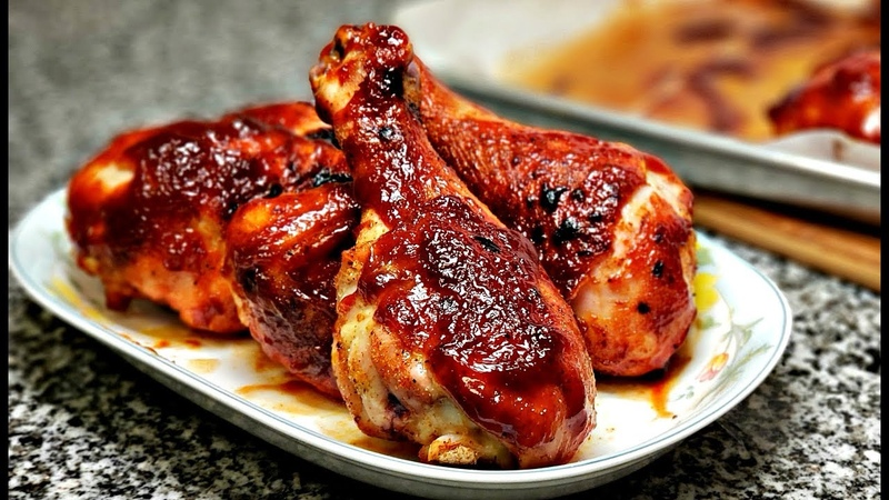 Easy Oven Baked BBQ Chicken | Barbecue Sauce Recipe | Baked Chicken Recipe