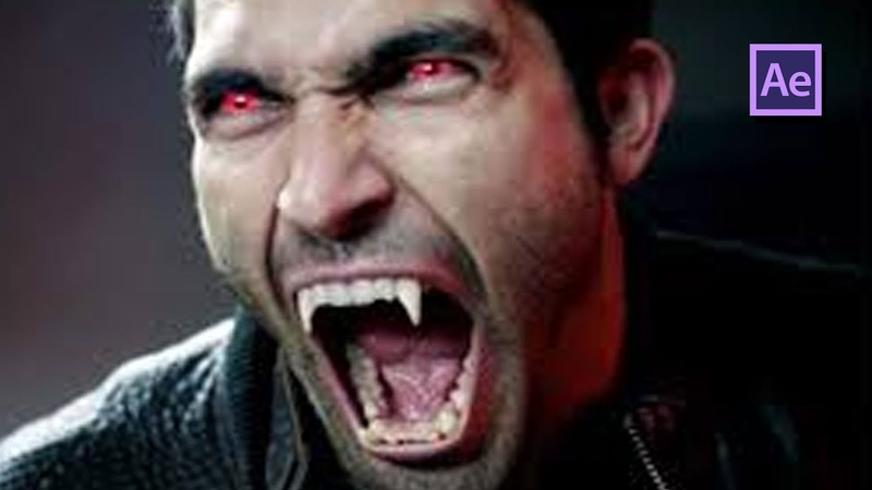 Epic Growing Vampire Teeth in After Effects Tutorial