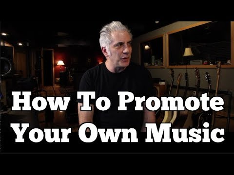 How To Promote Your Music YOURSELF
