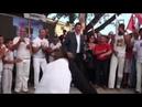 Haddad jogando Capoeira LulaLivreJá
