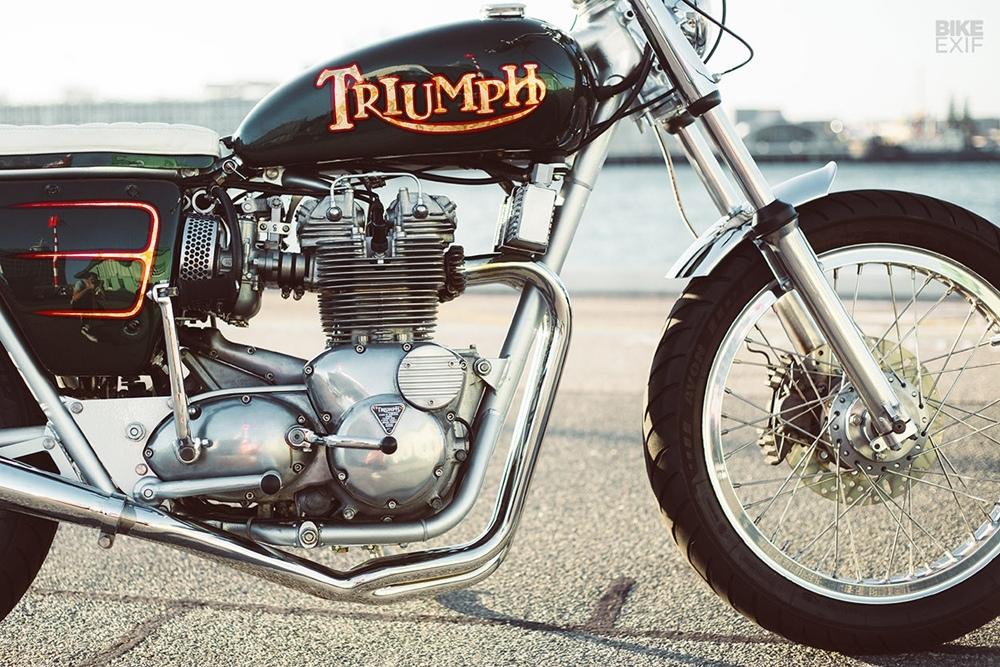 Классик Triumph T150V Trident