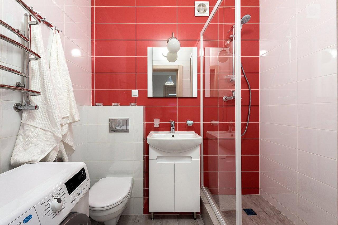 Замечательный интерьер однокомнатной квартиры, 35 кв.