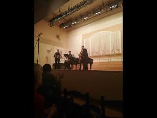Гала-концерт Дни саксофона в Москве с Маргаритой Шапошниковой. Russian saxophone quartet