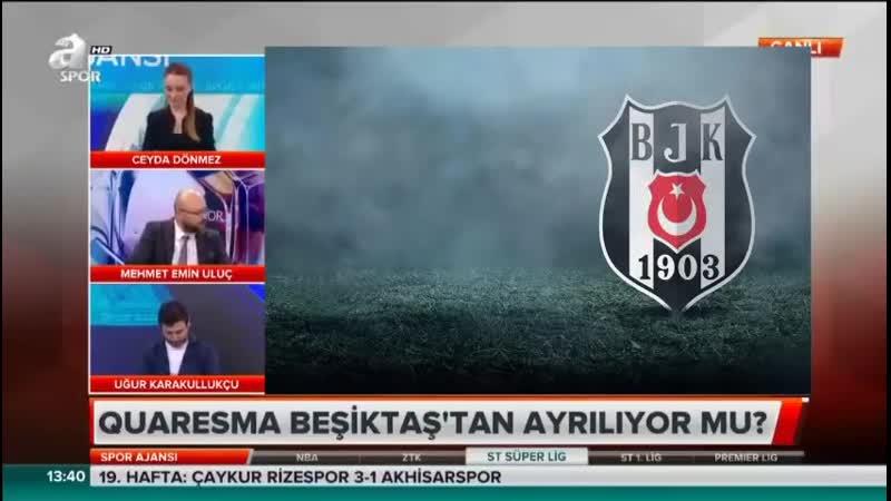 Beşiktaş Gündemi Uğur Karakullukçu Uluç Spor Ajansı 28 Ocak