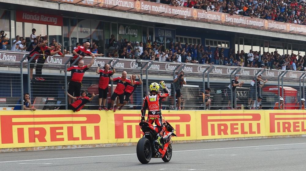 Таиланд, этап 2 - результаты второй гонки