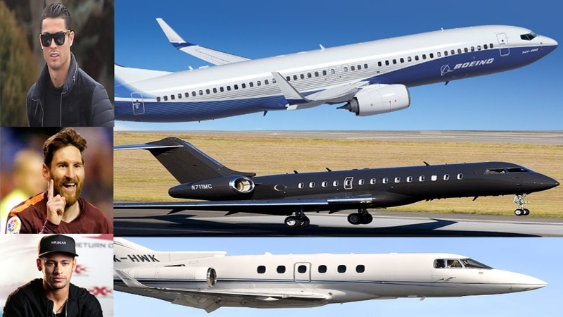 Most Expensive Private Jet of Football Players 2019 | World Best Private Jet 2019
