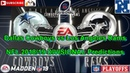 Dallas Cowboys vs Los Angeles Rams | NFL 2018 NFC DIVISIONAL PLAYOFFS | Predictions Madden NFL 19