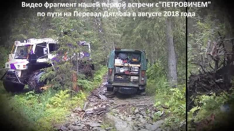 ШУНУТ_ ЛуАЗы и ПЕТРОВИЧ- он же вездеход КРЕЧЕТ