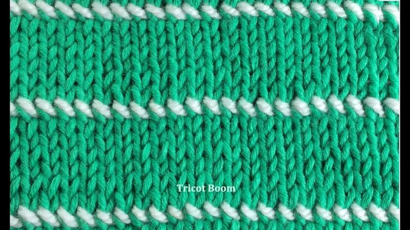 Имитация вышивки спицами. Вязание спицами. Imitation of embroidery knitting for multiple projects