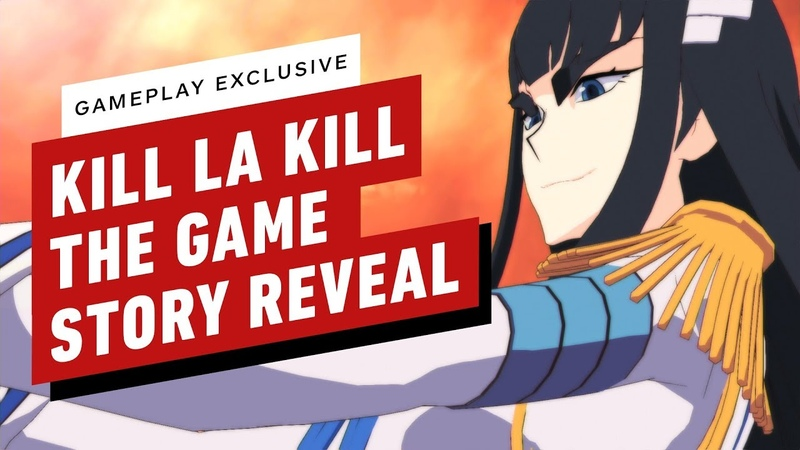 Kill la Kill the Game: If First Story Mission Gameplay