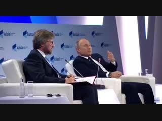 Путин о том, что будет, если по России нанесут ядерный удар