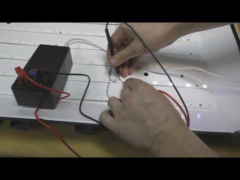ремонт телевизора supra stv-lc32510wl, ремонт подсветки проявился дефект матрицы
