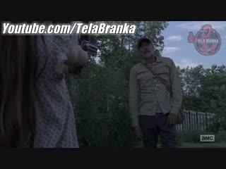 The Walking Dead 9x9 - Judith Confronta Negan