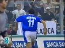 1997-98 Brescia-Sampdoria 3-3 [Hubner 3,Boghossian,Montella 2] Servizio D.S.Rai3