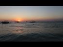 Закат,пляж Кута,Бали
