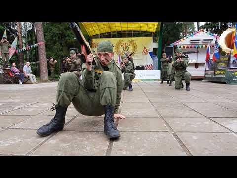 Будем биться, выступление православного казачьего патриотического клуба Таманец, Наро-Фоминск