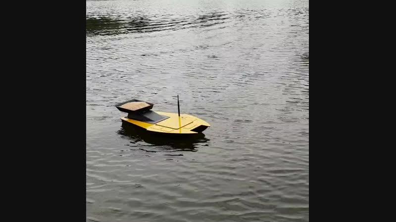 Прикормочный кораблик. Корпус АБС пластик 3 мм.