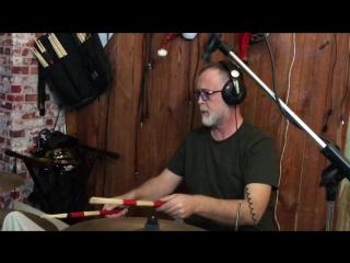 Запись барабанов для Жанны Бичевской