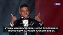 Risas premios y talento lo mejor que dejó la ceremonia del Balón de Oro Gol Caracol Gol Caracol