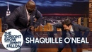 Shaquille O'Neal and Jimmy Have a Chicken Dance Off