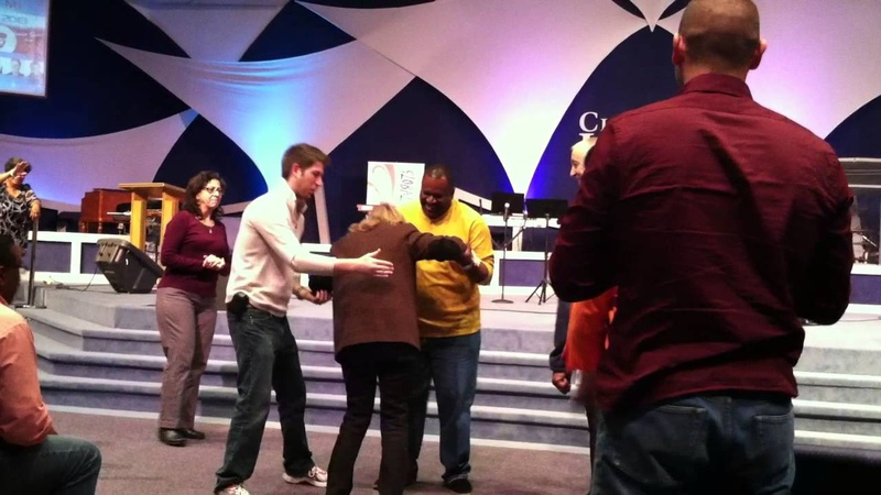 James Maloney with Pastor Brenda