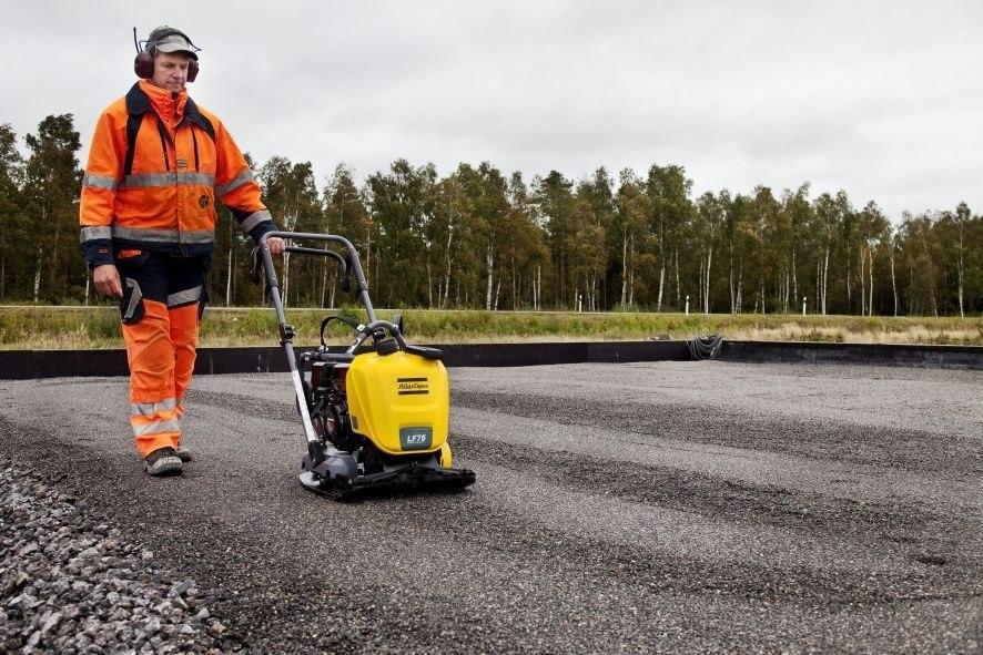 Технология строительства асфальтобетонного дорожного покрыти