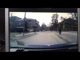ДТП полицейских и BMW X5 на еврономерах в Запорожье