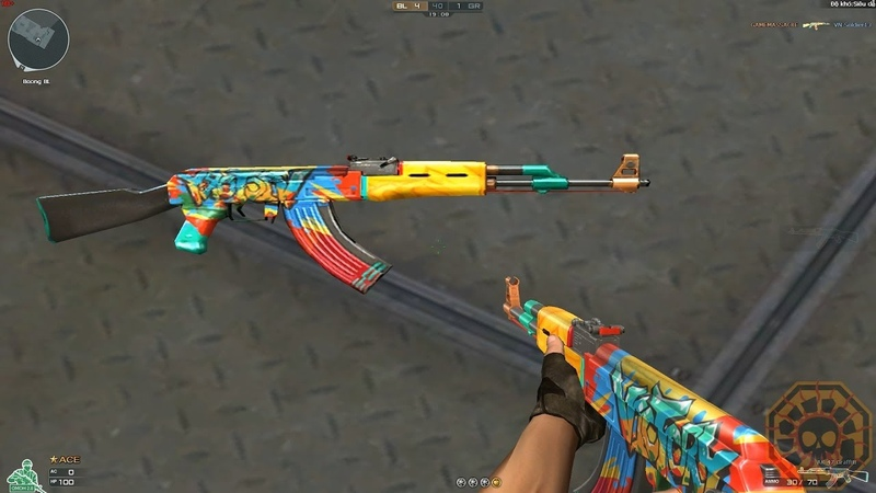 Cross Fire Vietnam || AK47-Graffiti !