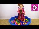 ✿ Бассейн с СЮРПРИЗАМИ Май Литл Пони Барби София Прекрасная Чупа Чупс surprise toys unboxing