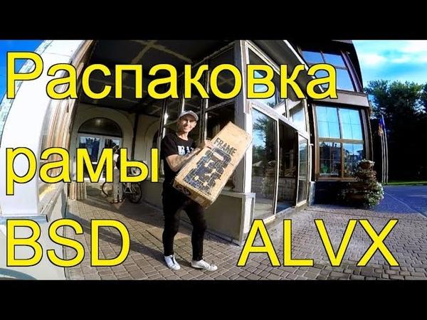 РАСПАКОВКА НОВОЙ РАМЫ BSD ALVX/ЧТО БЫЛО В КОМПЛЕКТЕ?/UNPACKING BSD ALVX FRAME 2019