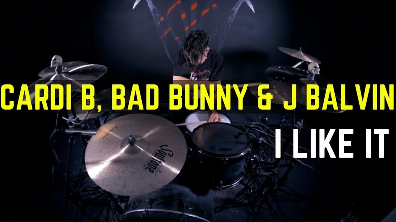 Cardi B, Bad Bunny J Balvin - I Like It | Matt McGuire Drum Cover