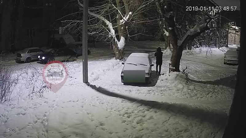 Сегодня ночью в районе Рабочего поселка группа лиц на автомобиле хотела совершить кражу
