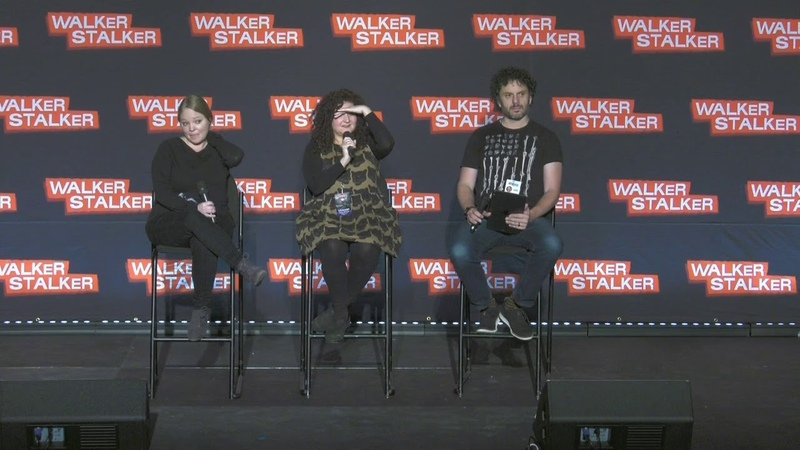 The Walking Dead Mellisa Hutchison Nikki Rapp WSC NJ 2018