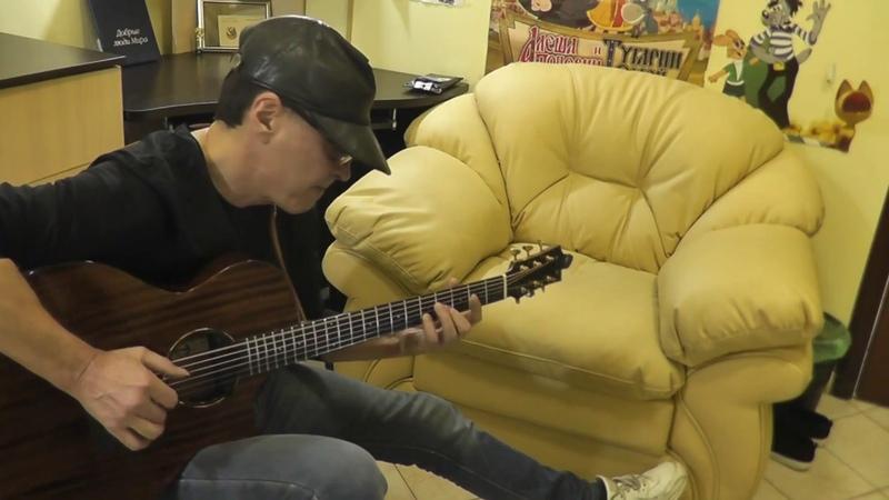 Выхода нет - прикольная кавер версия на гитаре - фингерстайл