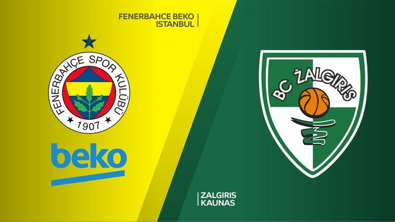 Fenerbahce Beko Istanbul - Zalgiris Kaunas Highlights | EuroLeague RS Round 18