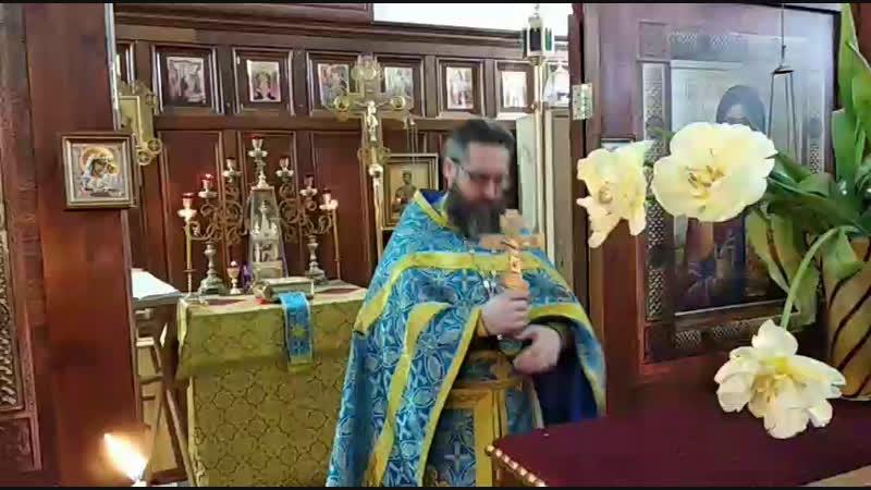 Слово иерея Иоанна Карабидович О мытаре и фарисее Воскресение