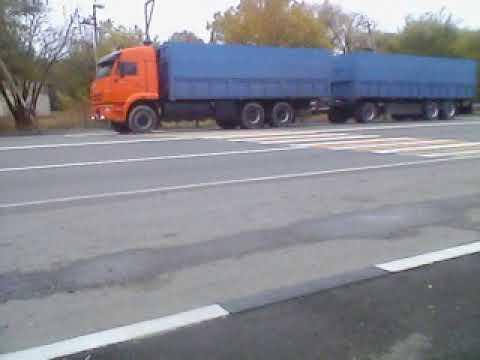 КамАЗ 6520 Зверюга (Зерновоз)