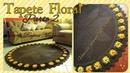 🌻Tapete Decore Floral em Croche parte 2/Por Vanessa Marcondes