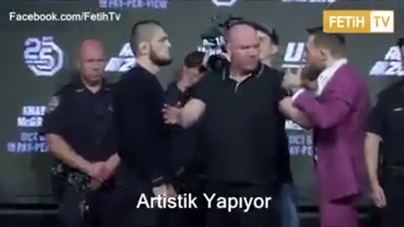 Elhamdülillah,Zafer İslamın Khabib Nurmagomedov,McGregoru p-e
